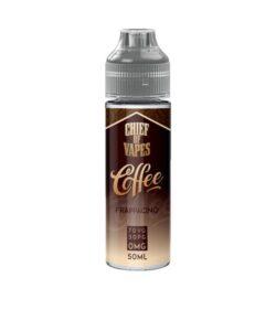 JWNAJ0054X0109 250x300 - Chief of Vapes Coffee Range 50ml Shortfill 0mg (70VG/30PG)