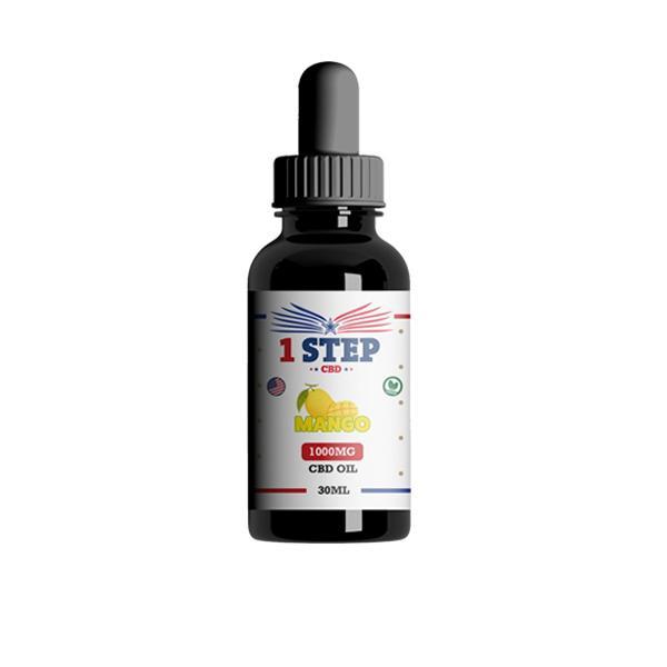 JWN1StepCBD1000mgOil1 10 525x525 - 1 Step CBD 1000mg CBD Flavoured Oil 30ml