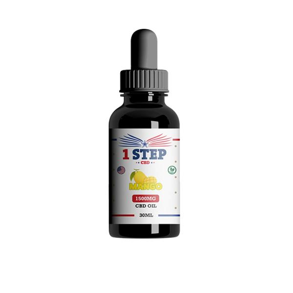 JWN1StepCBD1500mgoil2 525x525 - 1 Step CBD 1500mg CBD Flavoured Oil 30ml
