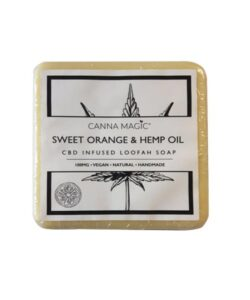 JWNBP0270X0100 250x300 - Canna Magic 100mg CBD Sweet Orange & Hemp Oil Soap 145g
