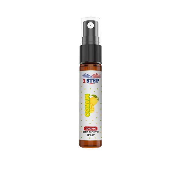 JWNCBDMouthSpray1001 525x525 - 1 Step CBD 1000mg CBD Mouth Spray 10ml