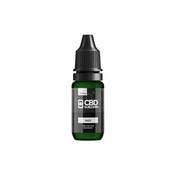 JWNAK0175X0049New 525x525 - CBD Asylum 1000mg CBD E-liquid Unflavoured Shot 10ml