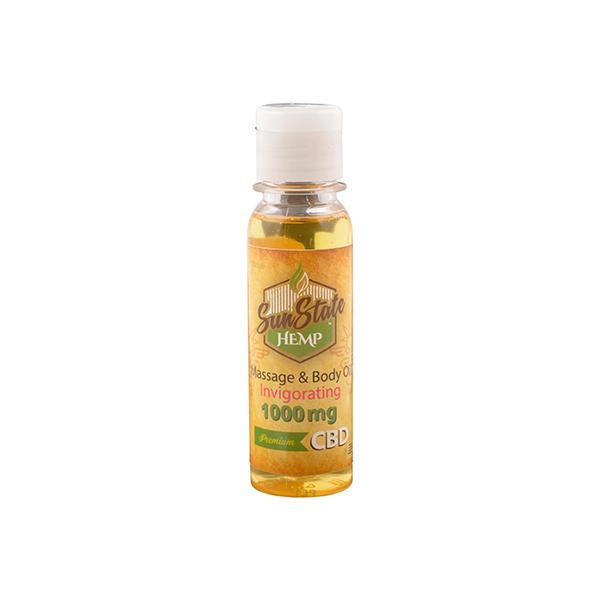 JWNBK0053X0143 525x525 - Sun State Hemp 1000mg CBD Invigorating Massage Oil 100ml