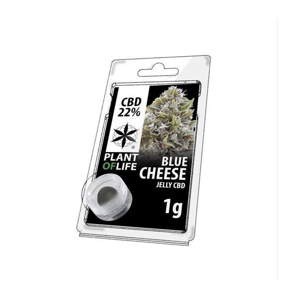 JWNBR0061X0213 525x525 - Plant Of Life Strains Jelly 22% CBD 1g - Blue Cheese