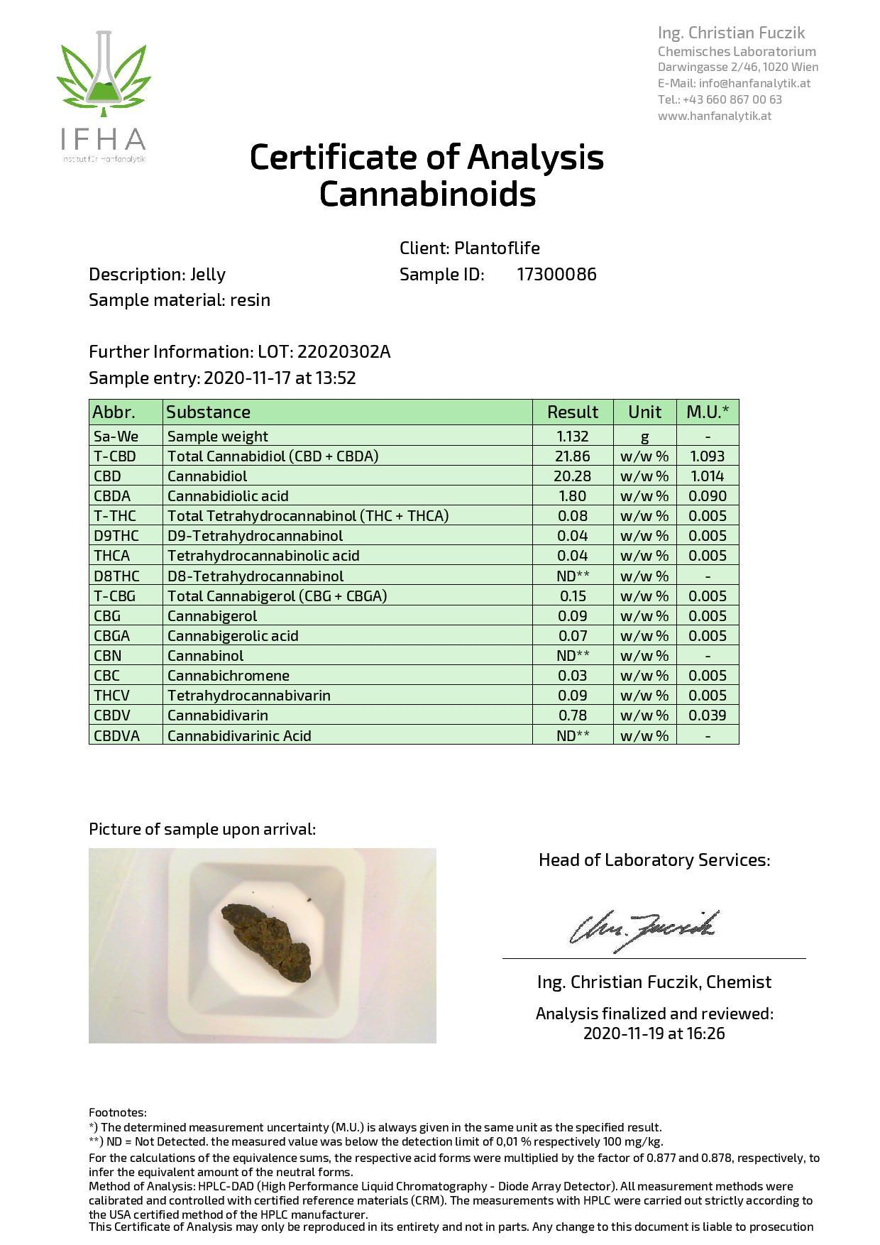 JWNBR0076X0213 1 525x743 - Plant Of Life Fruit Market Jelly 22% CBD 1g - Gorilla Glue