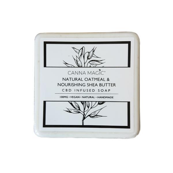 JWNBJ0176X0100 525x525 - Canna Magic 100mg CBD Natural Oatmeal & Shea Butter Soap 145g